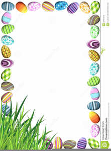 Easter clipart free borders clipart free stock Easter Egg Border Clipart | Free Images at Clker.com - vector clip ... clipart free stock