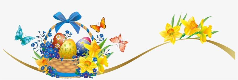 Easter clipart free borders svg royalty free download Easter Border Clipart - Free Transparent PNG Download - PNGkey svg royalty free download