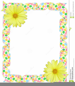 Easter clipart free borders banner royalty free library Easter Religious Border Clipart | Free Images at Clker.com - vector ... banner royalty free library