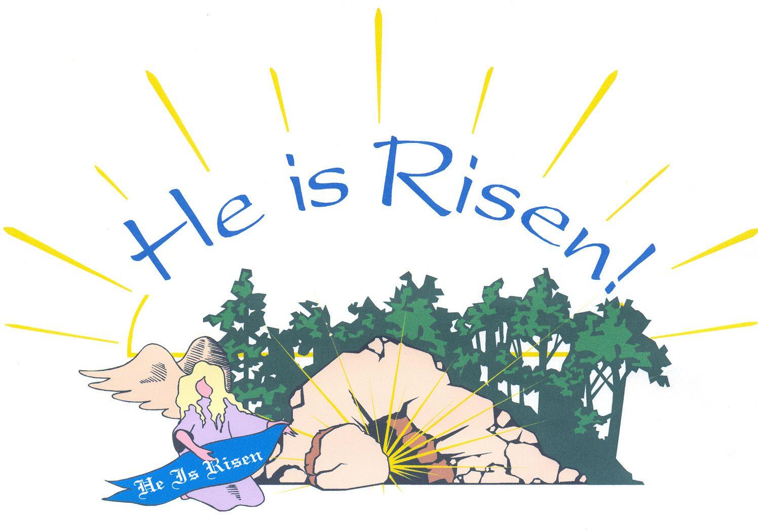 Free christian easter clipart royalty free library Jesus is Risen - Easter Wallpaper | Art | Easter wallpaper ... royalty free library