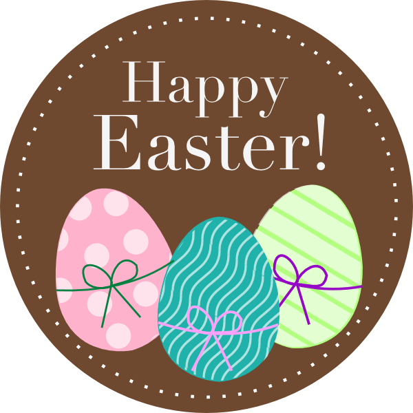 Transparent easter clipart vector transparent download Happy Easter Clipart transparent PNG - StickPNG vector transparent download
