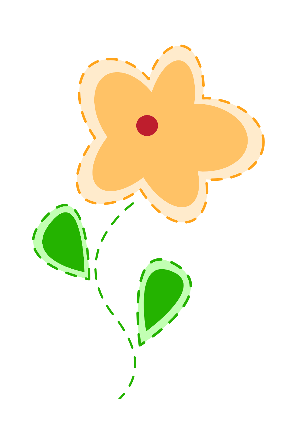Easter clipart tall flower png graphic download Easter clipart tall flower - ClipartFest graphic download