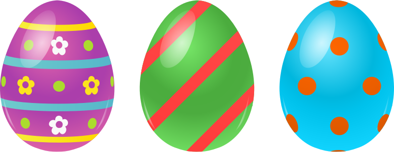 Clipart Easter Eggs & Easter Eggs Clip Art Images - ClipartALL.com picture transparent library