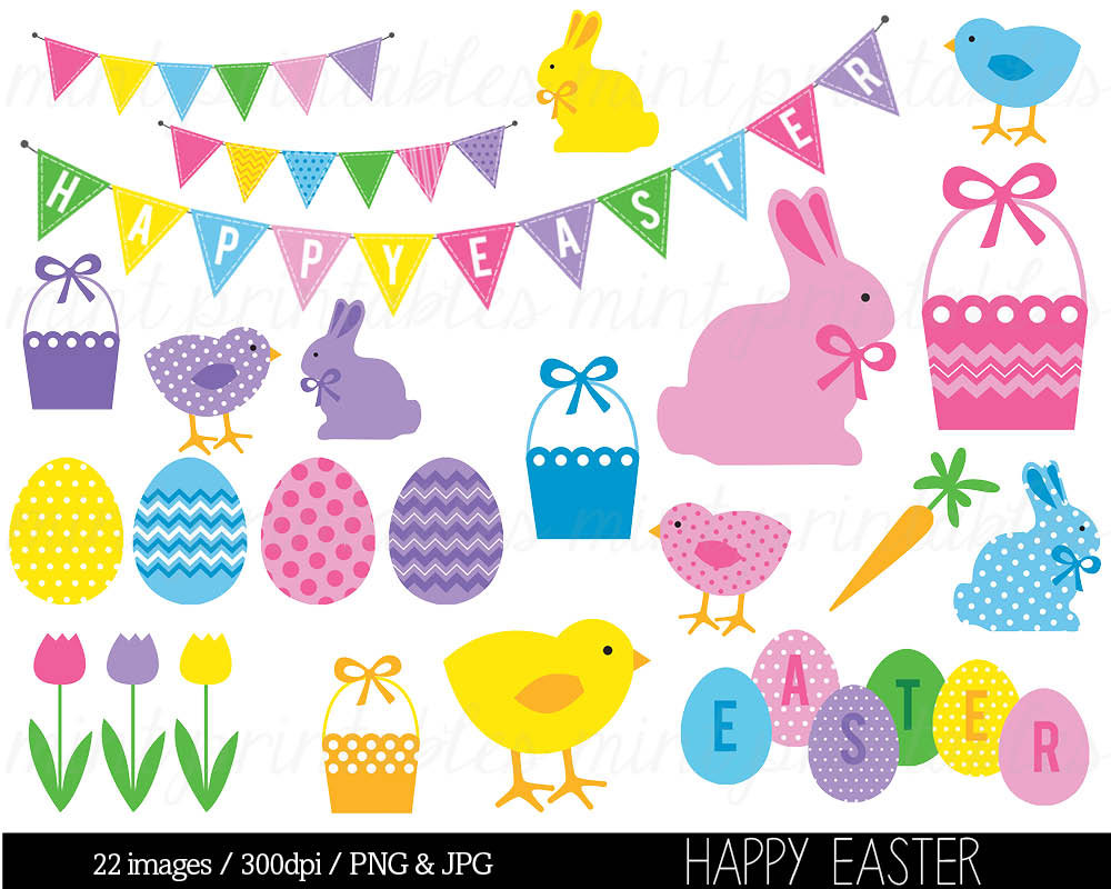 Easter Bunny And Basket Clipart - Clipart Kid svg transparent