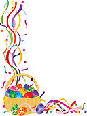 Easter corner clipart - ClipartFest png library