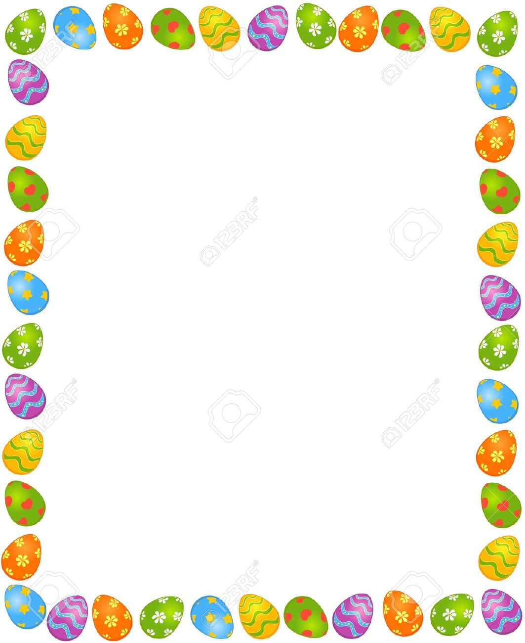 Easter corner clipart banner stock Collection Easter Borders Free Pictures - Best easter gift ever banner stock
