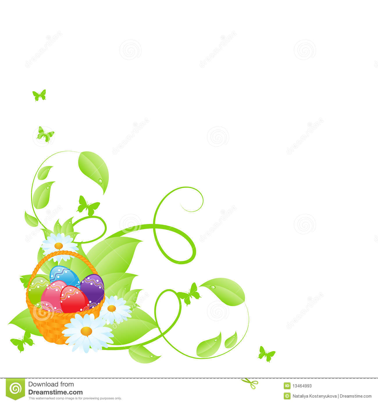 Easter corner clipart graphic download Easter corner clipart - ClipartFest graphic download