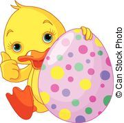 Easter duck clipart clip art Easter Ducks Clip Art | Easter Duckling gives thumbs up ... clip art