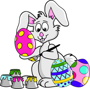Easter egg and bunny clipart image library stock Free Easter Bunny Clipart Image 0515-1104-0519-5656 | Easter Clipart image library stock