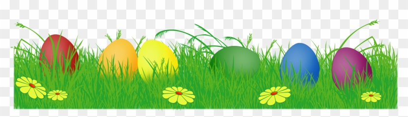 Easter egg banner clipart png royalty free library Easter Eggs In Grass Png - Easter Egg Banner Png, Transparent Png ... png royalty free library