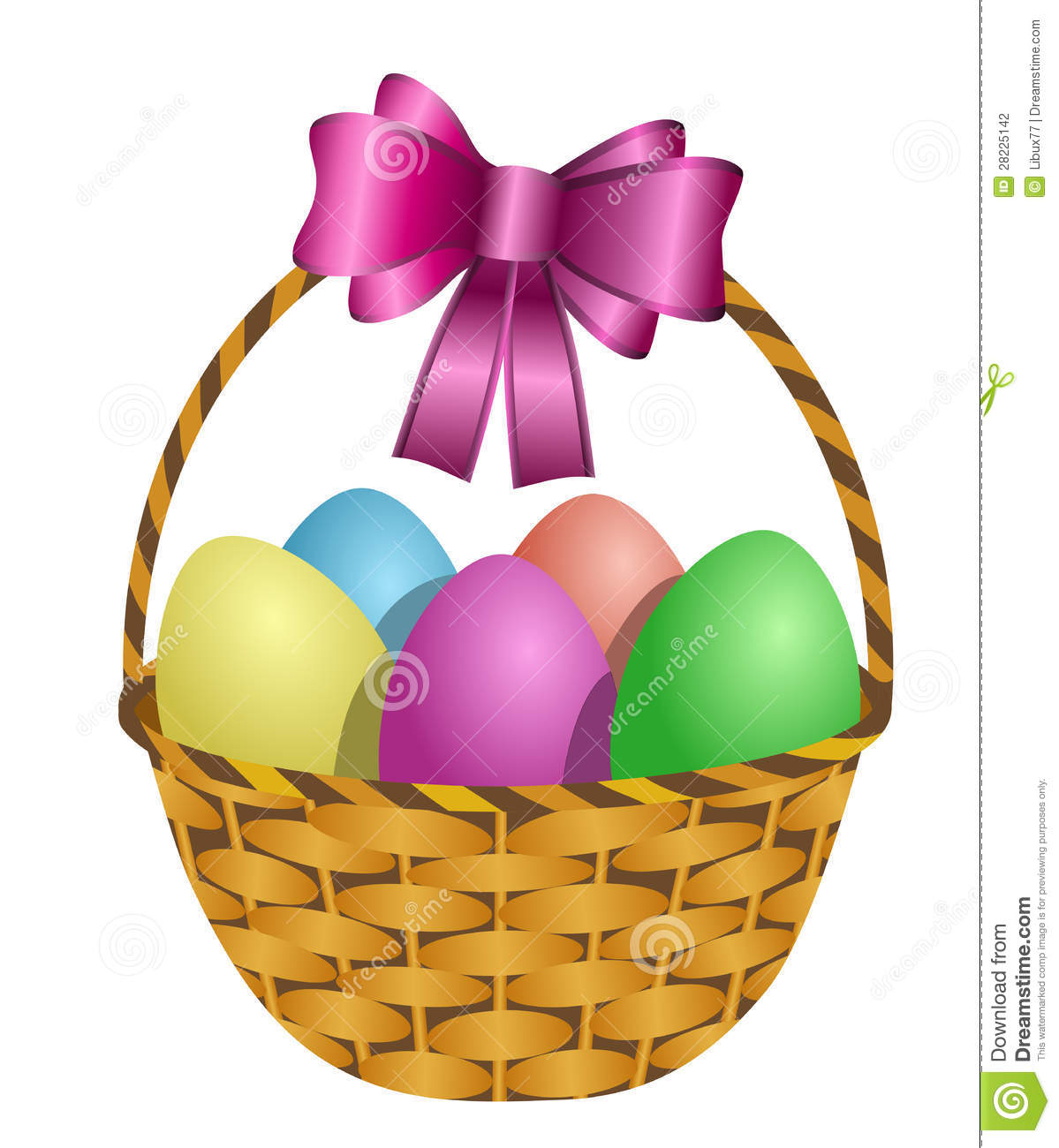 Easter egg basket clip art svg transparent Purple easter basket clipart - ClipartFest svg transparent