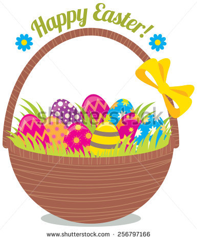 Easter egg basket clip art clip art freeuse library Easter basket clip art free vector download (209,980 Free vector ... clip art freeuse library