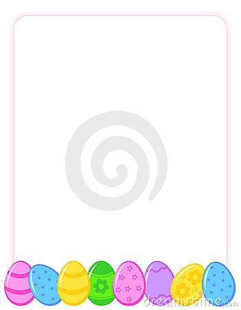 Easter egg border clip art clip royalty free download Easter Egg Border Clip Art – Clipart Free Download clip royalty free download