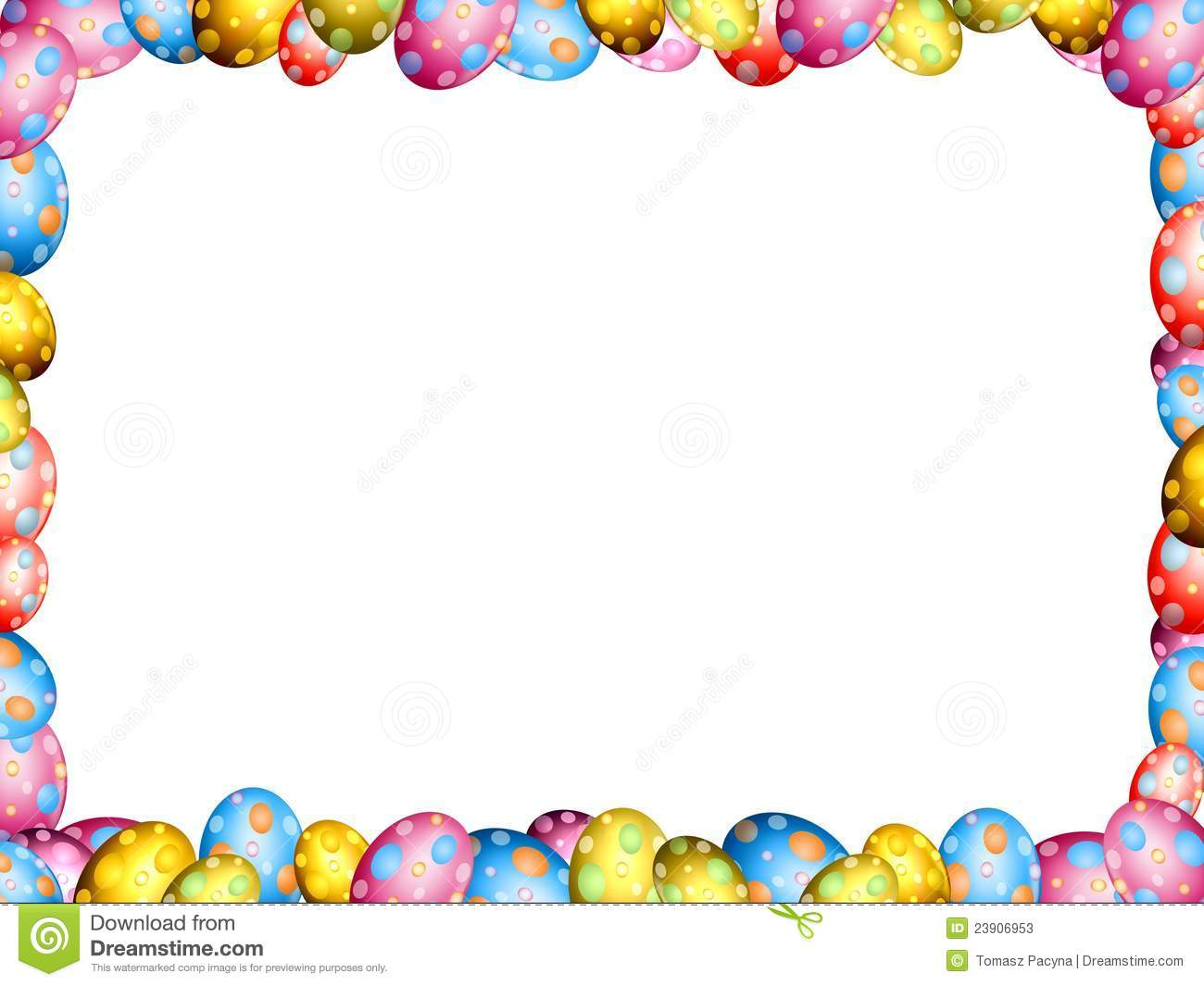 Easter egg border clip art picture black and white download Easter Border Clip Art & Easter Border Clip Art Clip Art Images ... picture black and white download