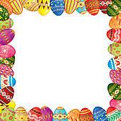 Easter egg border clipart banner freeuse library Easter Border Clip Art & Easter Border Clip Art Clip Art Images ... banner freeuse library