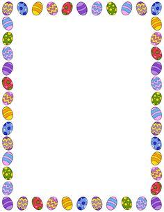 Easter egg clip art border png library download Easter egg clip art border - ClipartFest png library download