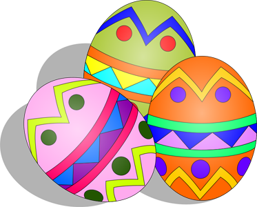 Easter egg clip art free banner free stock Free Easter Egg Clipart banner free stock