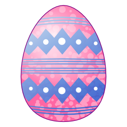Easter egg clip art free svg library library Pink easter egg clipart - ClipartFest svg library library