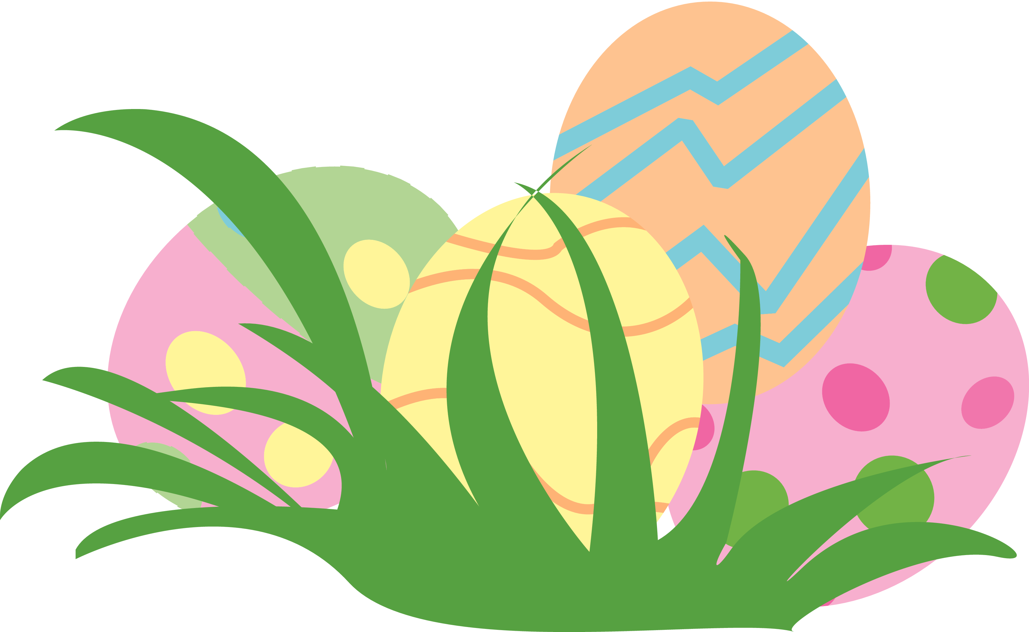 Easter egg clipart svg library Easter eggs clip art - ClipartFest svg library