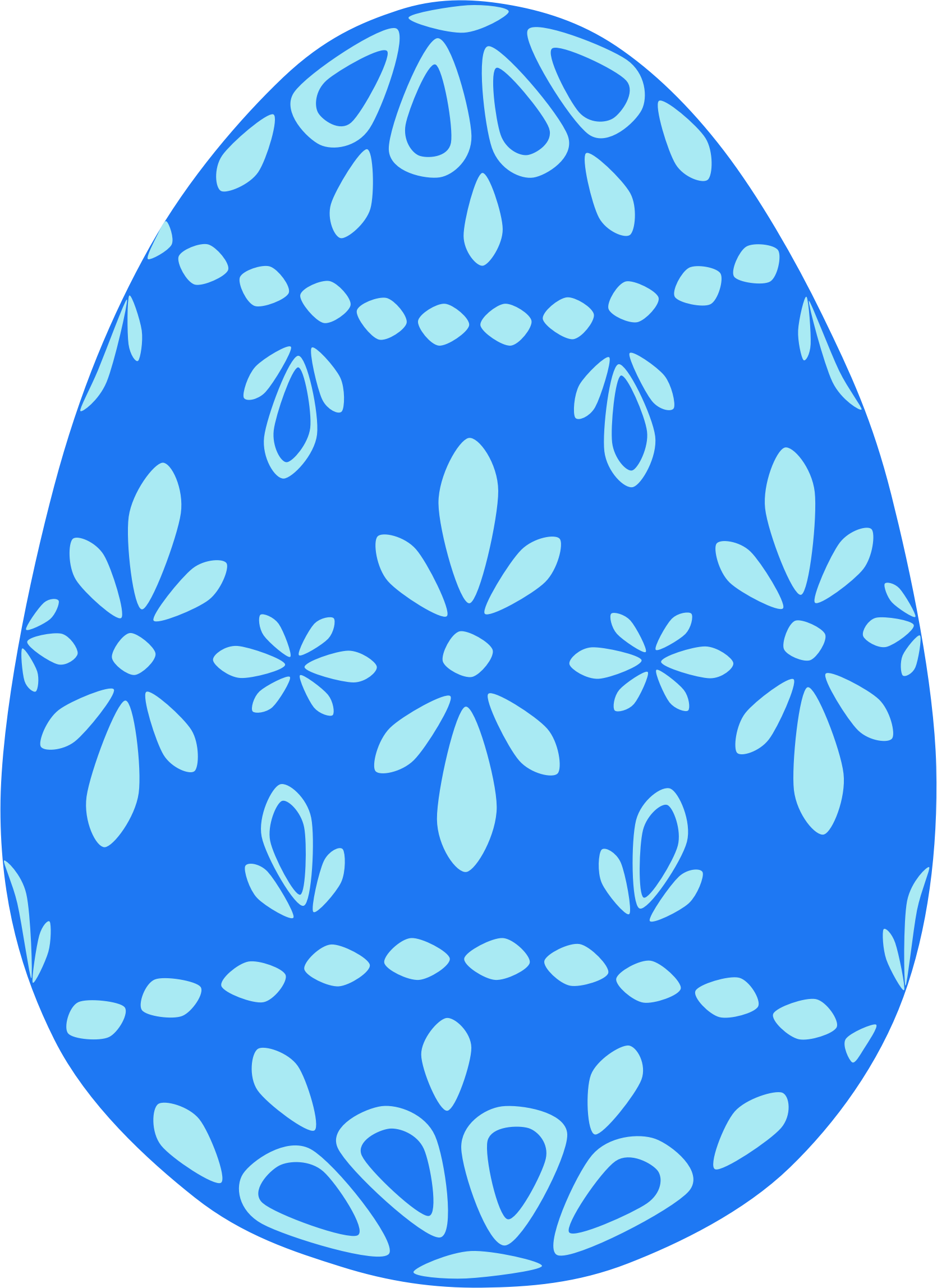 Easter egg clipart clip freeuse download Clipart - Blue Lace Easter Egg clip freeuse download