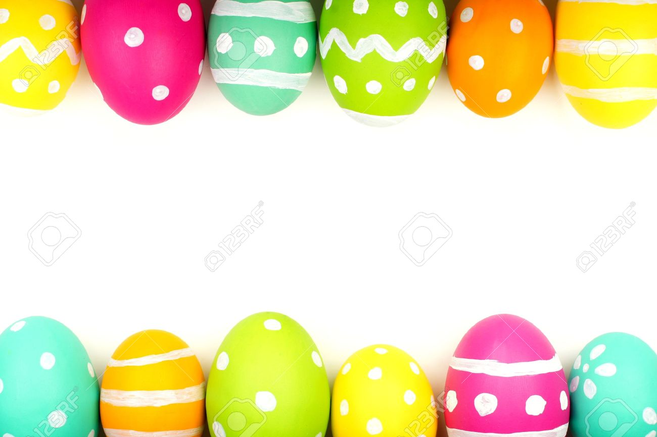 Easter egg clipart border transparent library Easter Border Images & Stock Pictures. Royalty Free Easter Border ... transparent library