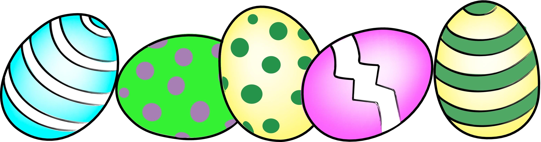 Easter egg clipart border jpg royalty free stock Easter Eggs Border Clip Art Clipart - Free to use Clip Art Resource jpg royalty free stock