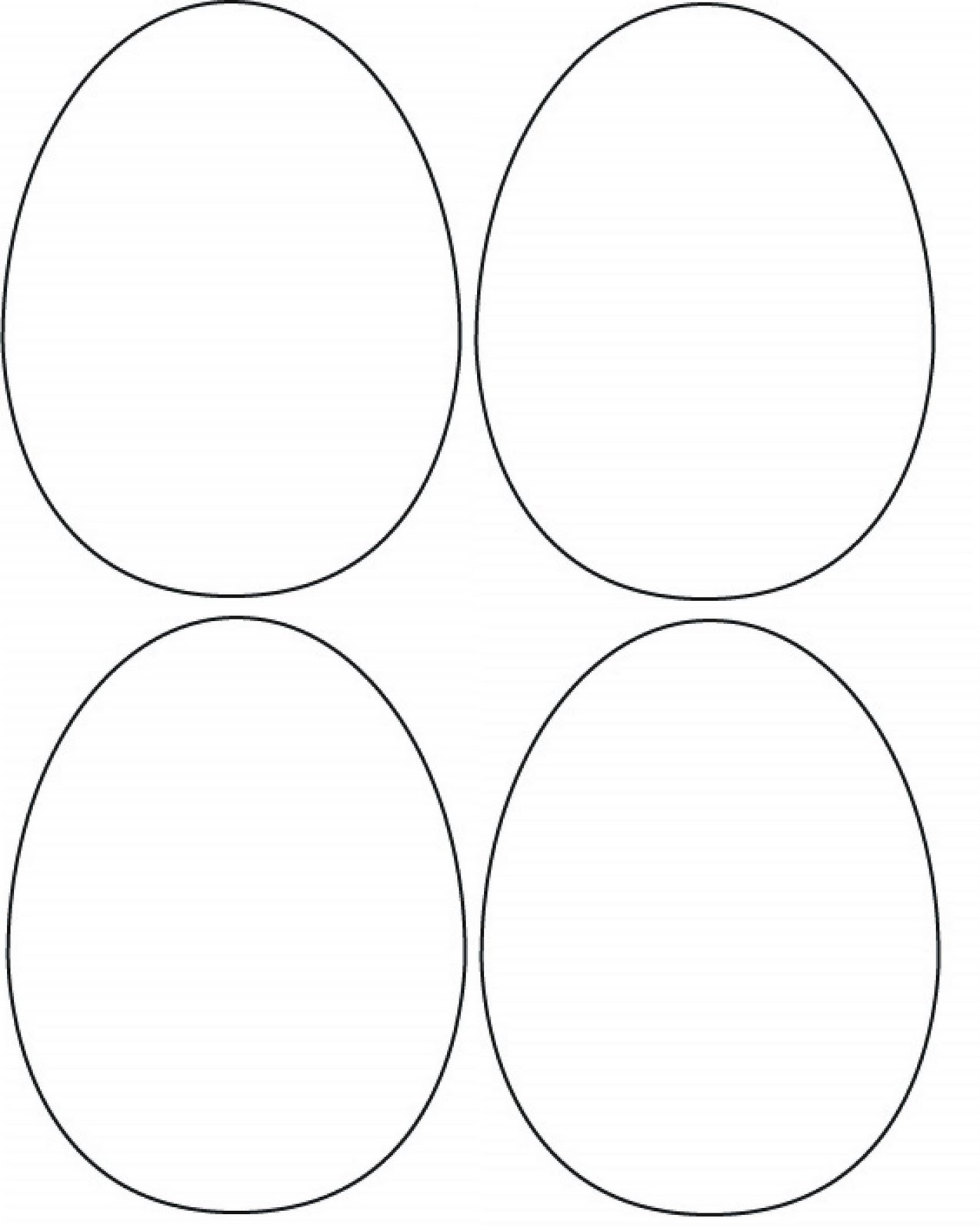 cake ideas and designs. free printable easter egg card template ... clipart black and white download