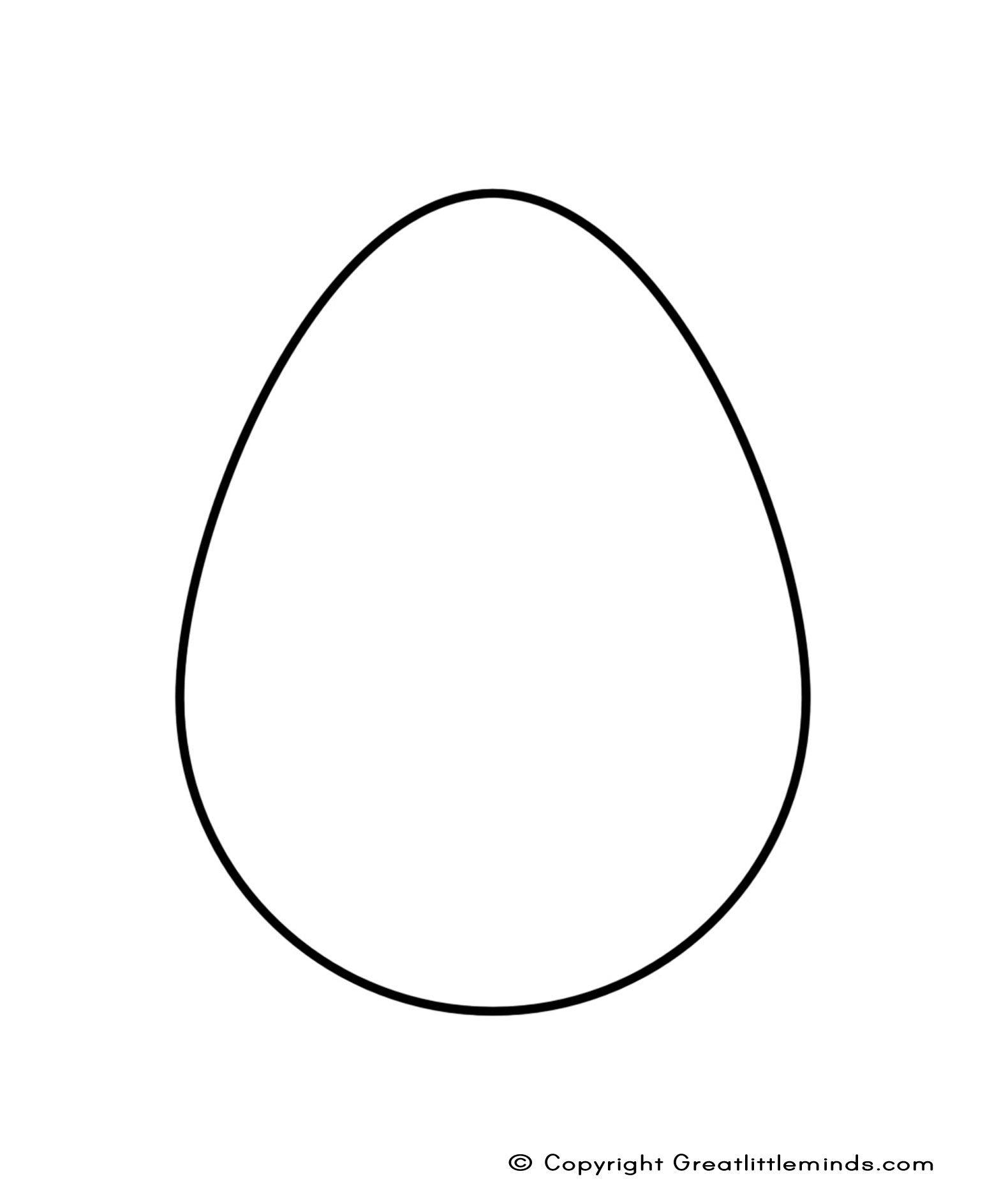 Plain Egg Templates - ClipArt Best svg free download