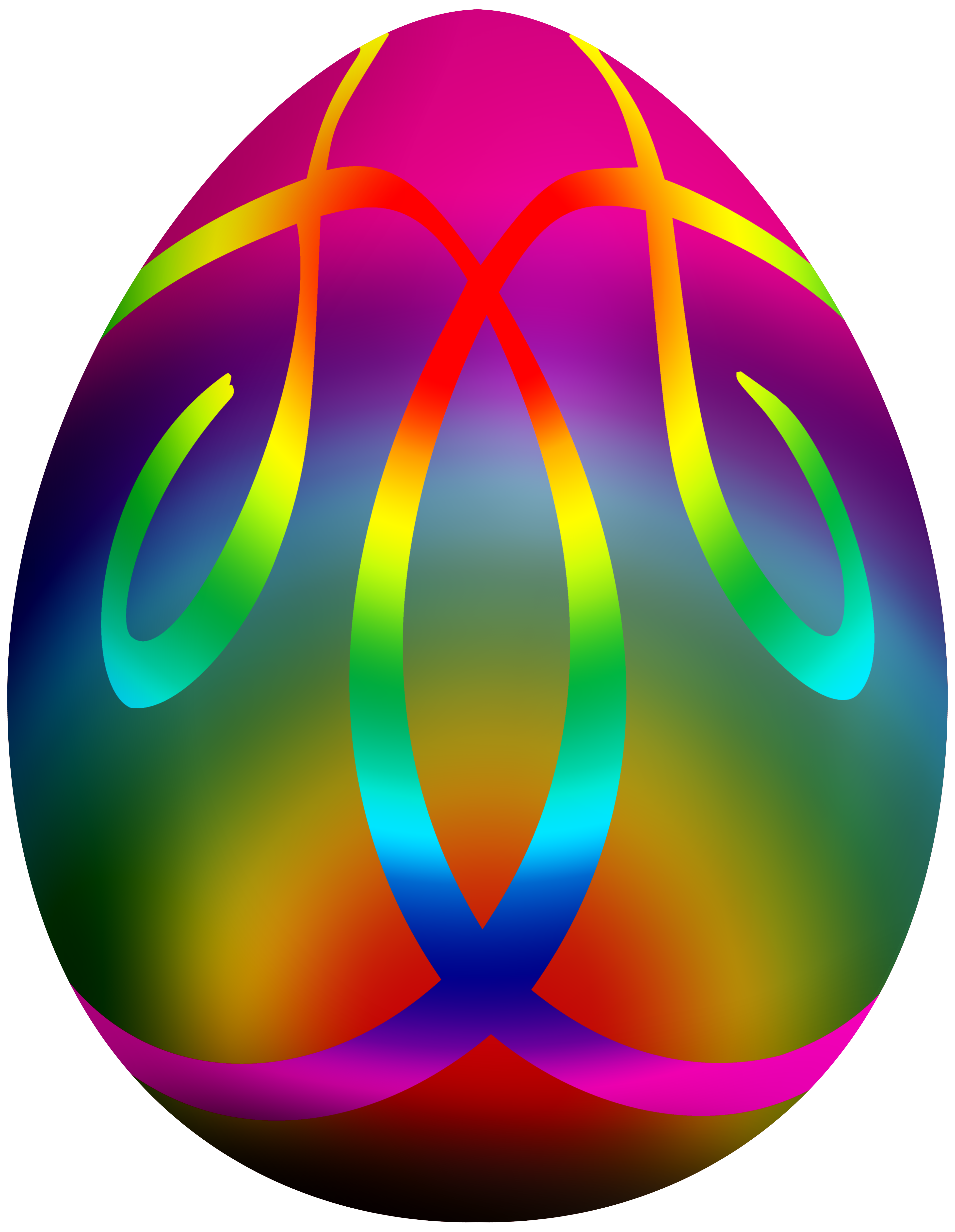 Easter egg clipart vector library download Colorful Easter Egg PNG Clip Art - Best WEB Clipart vector library download