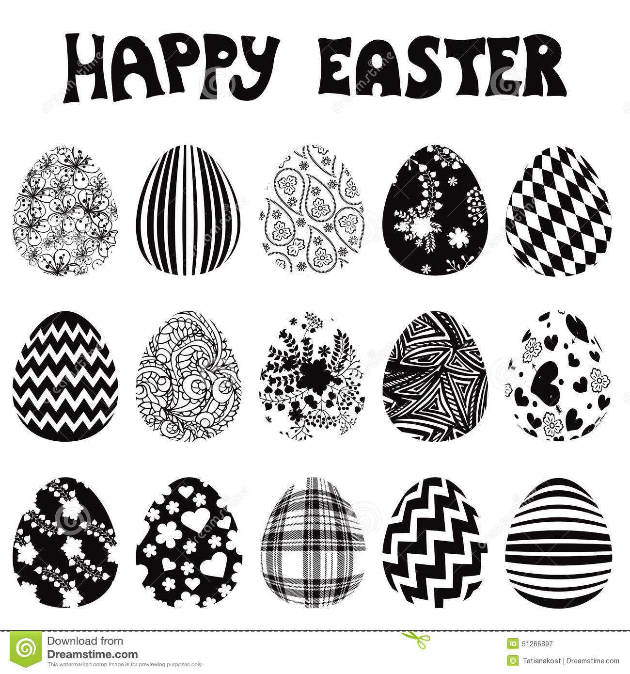 Easter egg clipart silhouette jpg black and white download Easter egg clipart silhouette - ClipartFest jpg black and white download