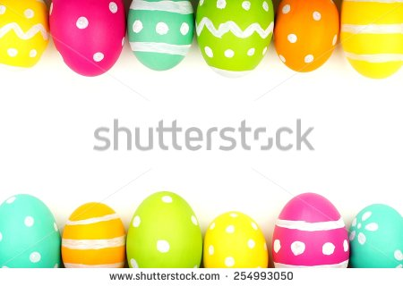Easter egg corner clipart vector library stock Images of Easter Egg Border - Best easter gift ever vector library stock