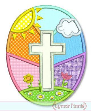 Easter egg cross clipart clip art transparent library Christian easter eggs clipart - ClipartFest clip art transparent library