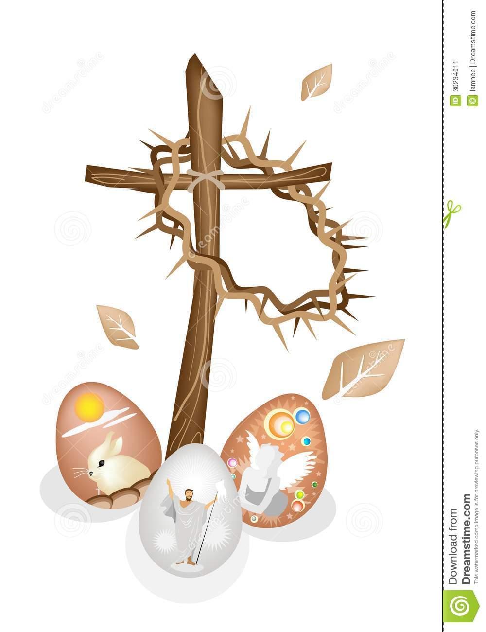 Easter egg cross clipart freeuse stock Easter eggs clipart christian - ClipartFest freeuse stock