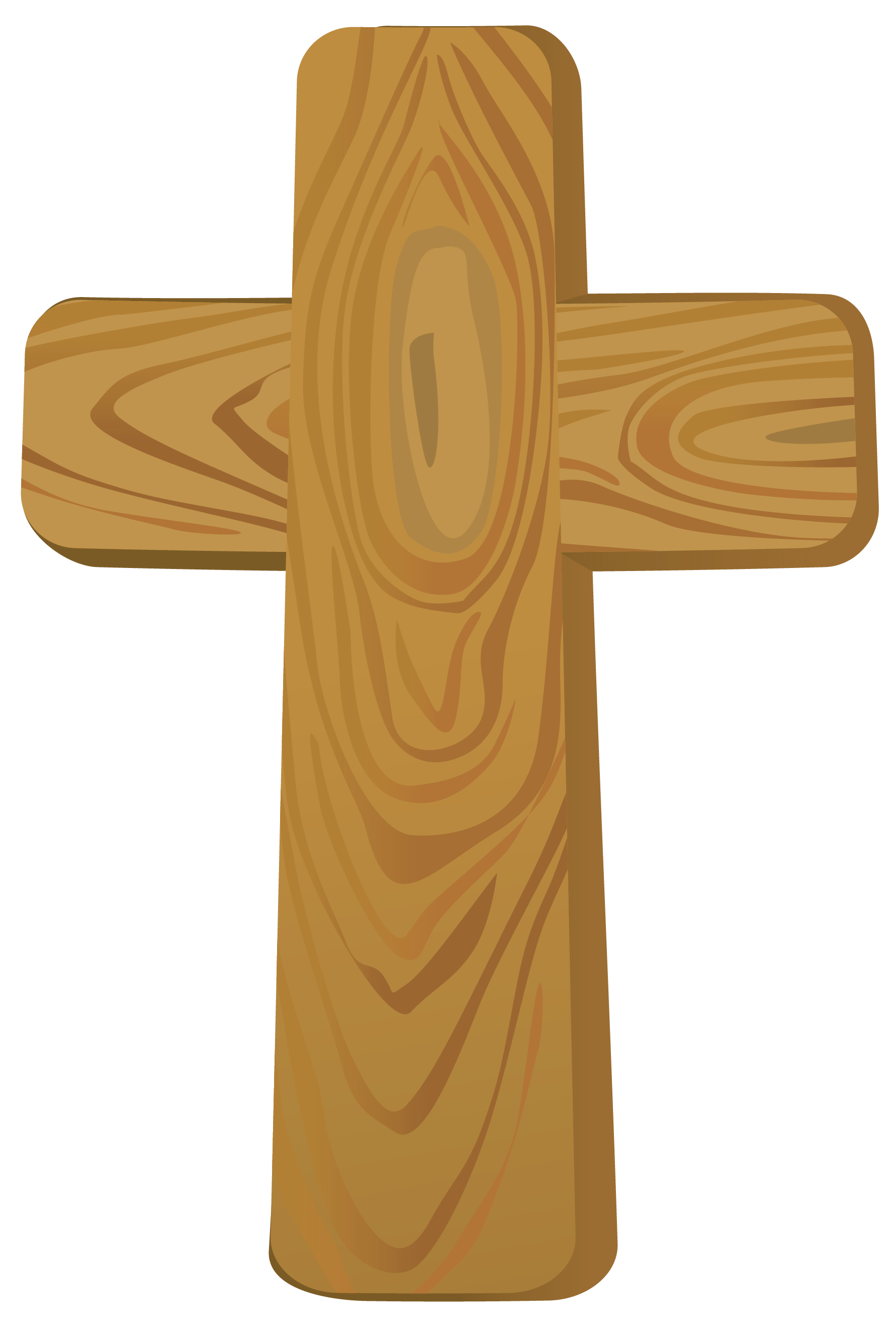 Free colorful cross clipart vector stock Wooden Cross PNG Clipart Picture vector stock