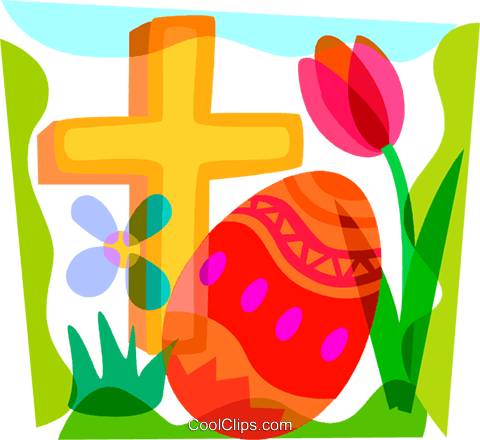 Easter egg cross clipart graphic royalty free download Easter egg cross clipart - ClipartFest graphic royalty free download