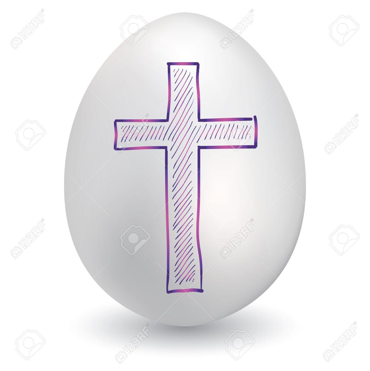 Easter egg cross clipart banner royalty free download Easter egg cross clipart - ClipartFest banner royalty free download