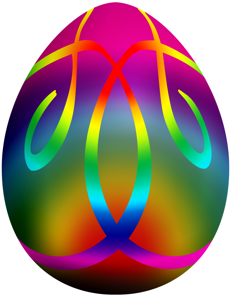 Easter egg crown clipart svg royalty free stock Colorful Easter Egg PNG Clip Art svg royalty free stock