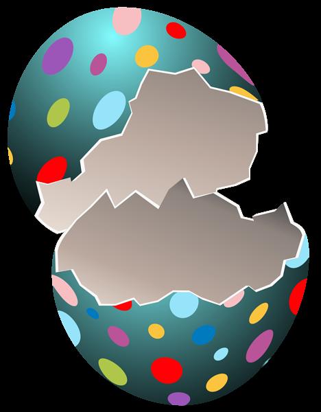 Easter egg frame clipart png clipart transparent stock Broken Easter Egg Transparent PNG Clip Art Image clipart transparent stock