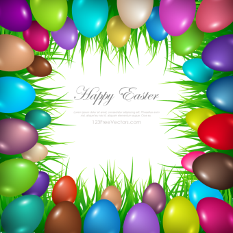 Easter egg frame clipart png free library 460+ Easter Vector Art Vectors | Download Free Vector Art ... free library