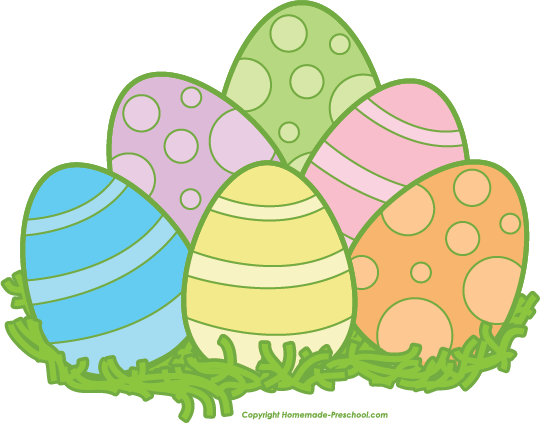 Easter egg free clipart banner library Free Easter Clipart | 2016 pins | Pinterest | Easter eggs, Grasses ... banner library