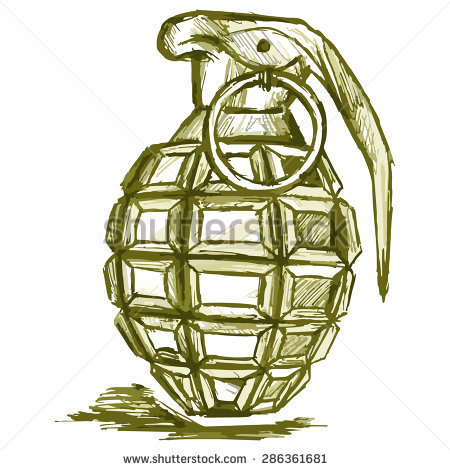 Hand Grenade Stock Images, Royalty-Free Images & Vectors ... clip freeuse stock