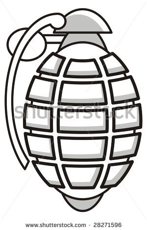 17 Best images about trad grenade on Pinterest | Traditional, How ... image black and white download