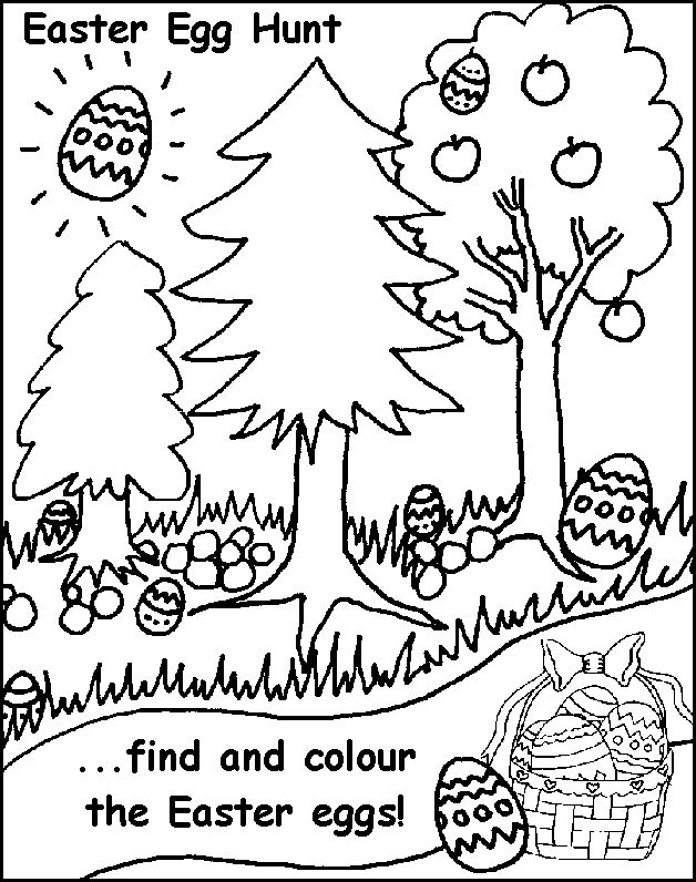 Easter egg hunt black and white clipart clip library library 1000+ images about Easter care package & cards for kids on ... clip library library