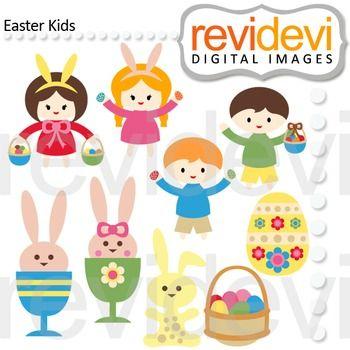 Easter egg hunt boy and girl clipart clipart freeuse download Easter Kids Clip Art | Easter Clip art and Inspiration | Easter ... clipart freeuse download