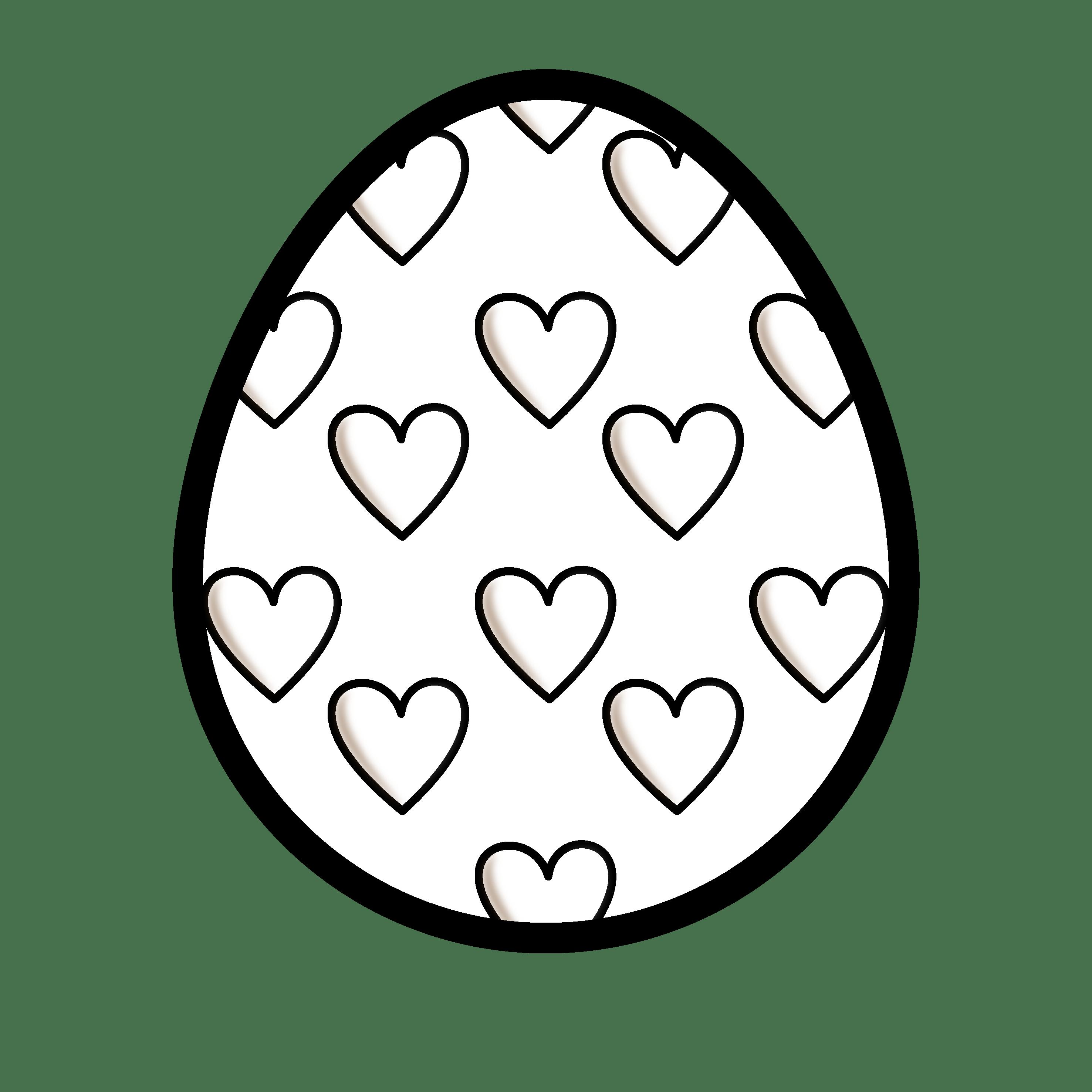 Easter egg hunt clipart black and white image library stock Easter Egg Clipart Group (57+) image library stock