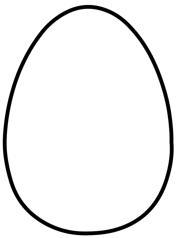Easter egg hunt clipart black and white jpg freeuse download Free Easter Party Favor Patterns | Pinterest | Easter egg template ... jpg freeuse download
