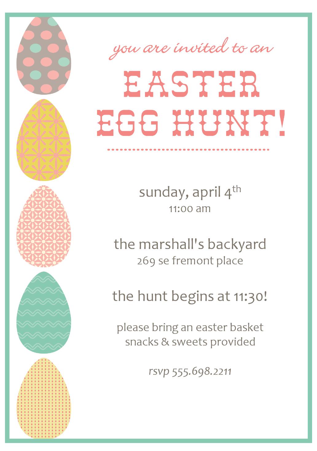 Easter egg hunt clipart border clip free Easter Egg Hunt Clipart - Clipart Kid clip free