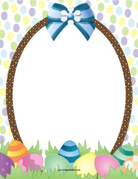 Easter egg hunt clipart border png royalty free Printable Easter egg border. Free GIF, JPG, PDF, and PNG downloads ... png royalty free