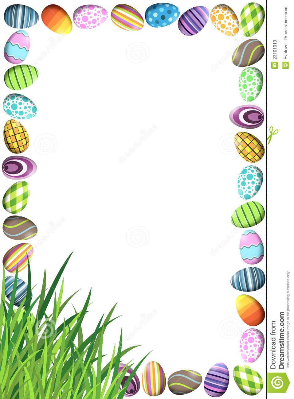 Easter egg hunt clipart border svg royalty free library Easter egg hunt clipart border - ClipartFest svg royalty free library