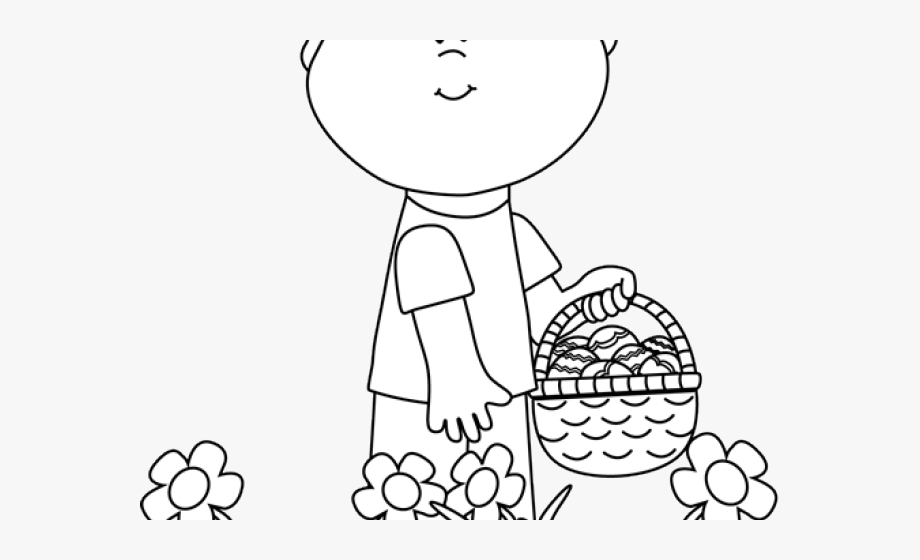 Free black and white easter egg hunt clipart clip art transparent library Easter Clipart Egg Hunt - Easter Egg Hunt Clipart Black And White ... clip art transparent library